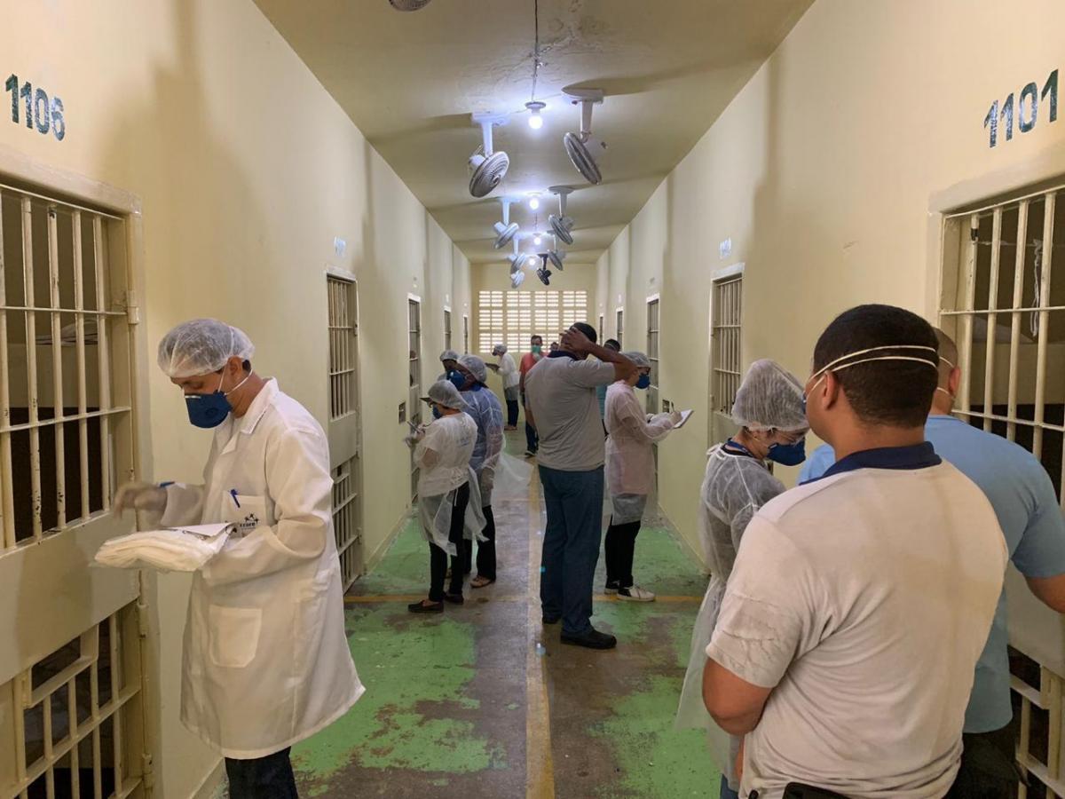 Seap faz 'Busca Ativa de Tuberculose' nas unidades prisionais