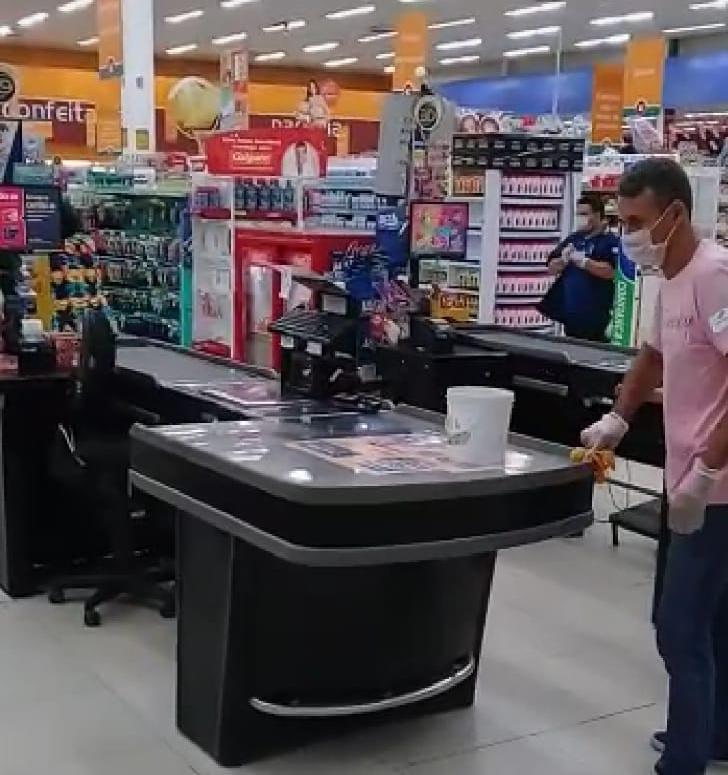 Supermercados de Manaus ampliam ações para atender clientes e colaboradores