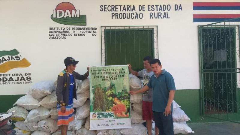 Sepror antecipa pagamento para 112 agricultores de 28 municípios atendidos pelo PAA