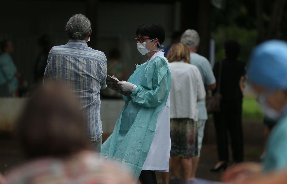 Covid-19: país registra 2.433 casos confirmados e 57 mortes