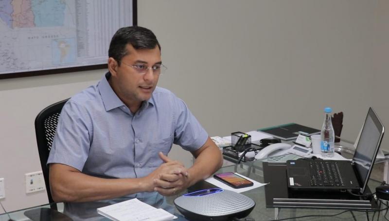 Wilson Lima e demais governadores assinam carta solicitando apoio do Governo Federal em medidas econômicas