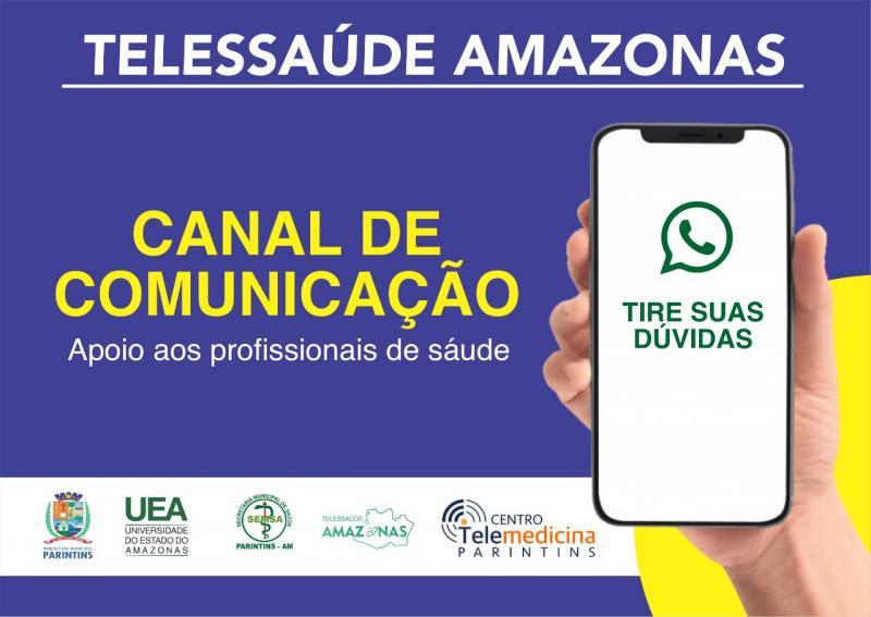 Prefeitura de Parintins e Núcleo de Telessaúde da UEA iniciam parceria durante a crise do coronavírus