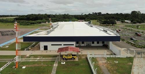 Aeroporto de Tefé reforça medidas de combate à pandemia da Covid-19