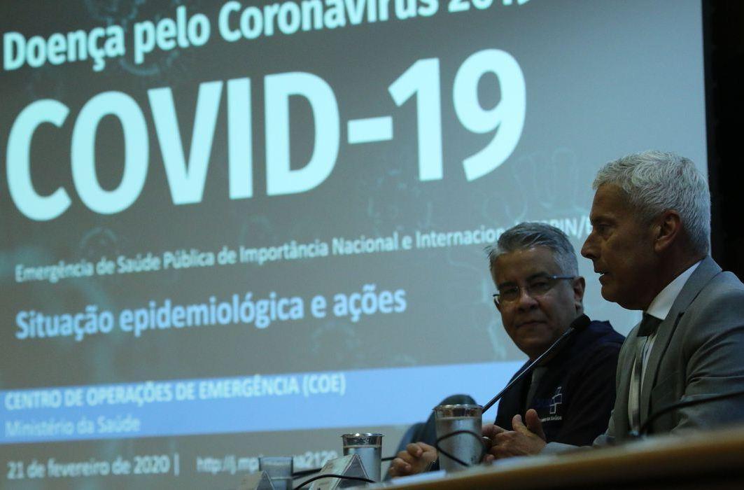 Coronavírus: Brasil tem 92 mortes e 3.417 casos confirmados
