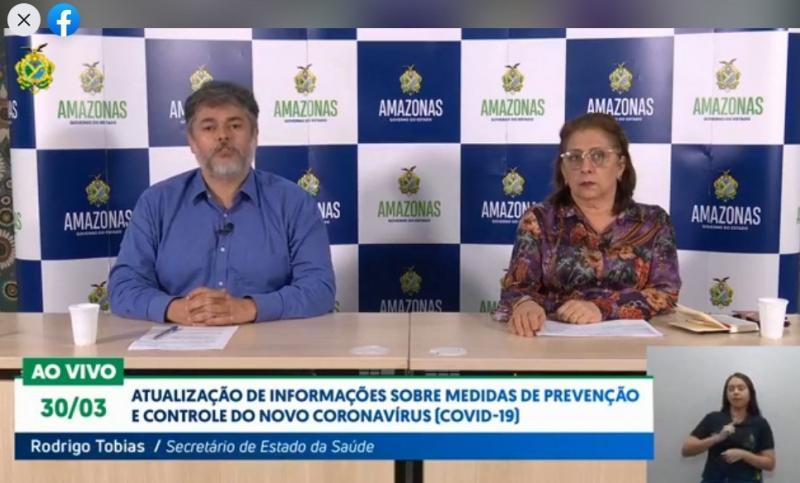 Aumenta casos da Covid-19 no Amazonas; agora são 151 pessoas com a doença