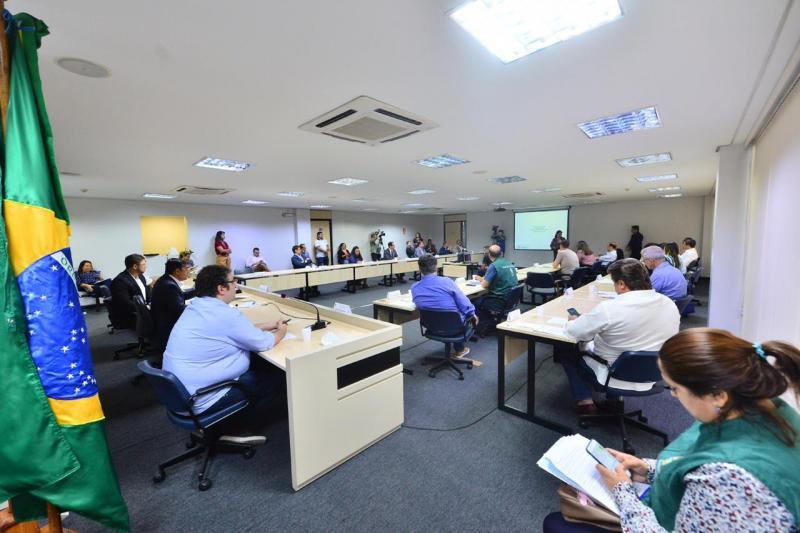 Representantes do comércio e indústria dialogam com Wilson Lima sobre atividade econômica