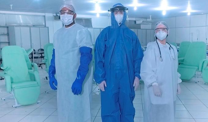 Governo distribui 40 milhões de equipamentos de proteção a profissionais de saúde