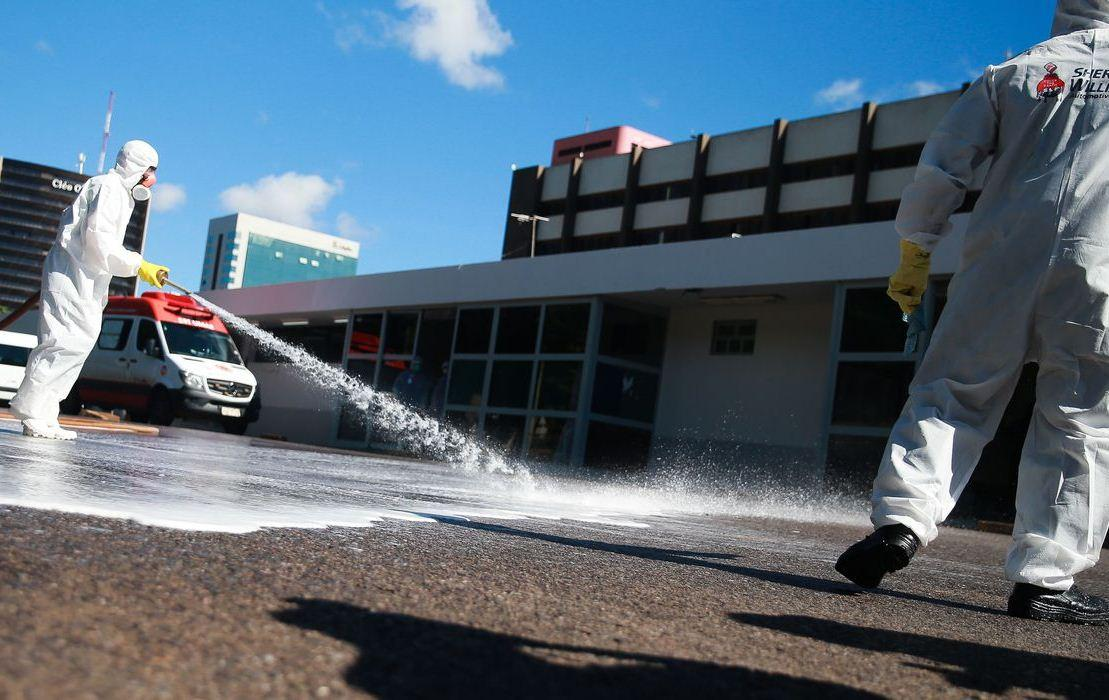 Brasil tem 201 óbitos por covid-19 e 5.717 casos confirmados