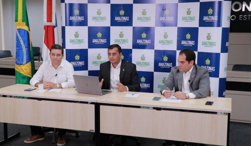 Governador Wilson Lima anuncia pacote de incentivo ao setor primário, frente a impactos da pandemia do novo coronavírus