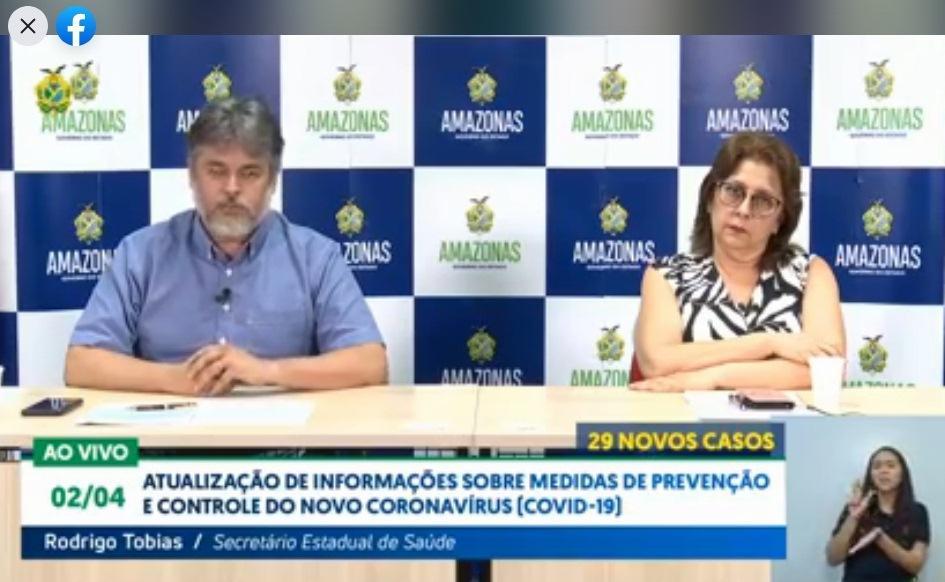 Dez cidades do Amazonas já registram casos do novo coronavírus
