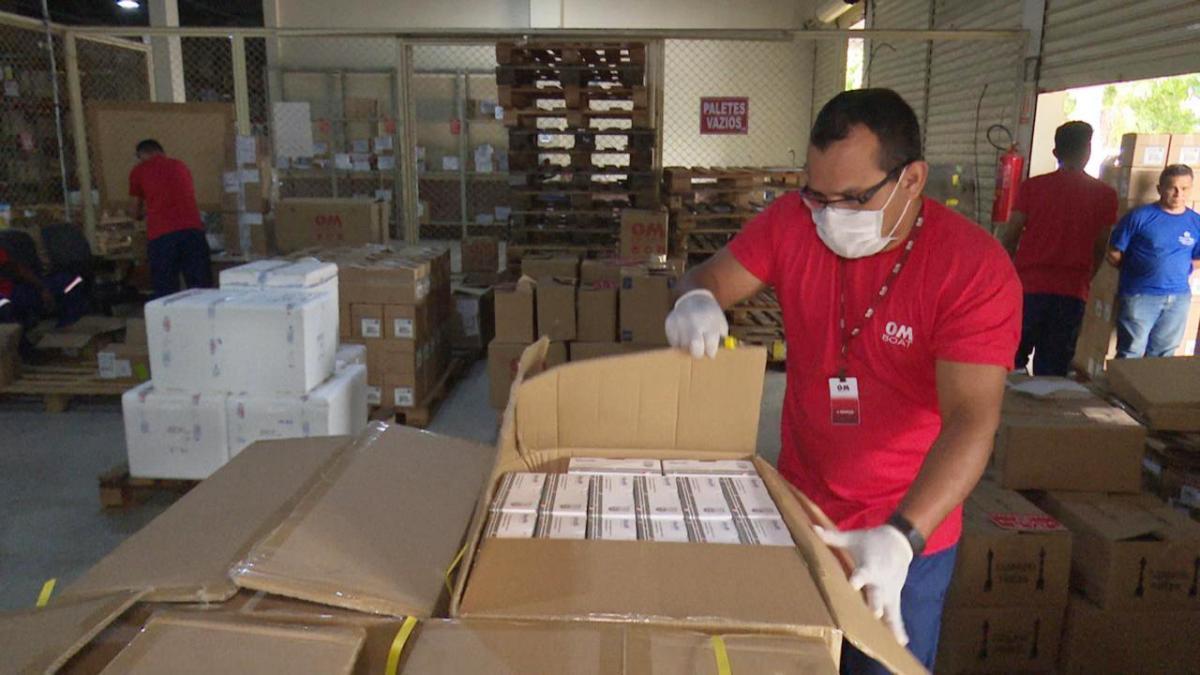 Amazonas recebe 9,6 mil testes rápidos do Ministério da Saúde