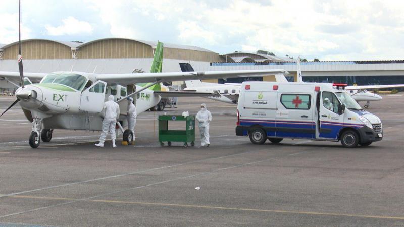 Susam já transferiu para a capital, por meio de UTI aérea, seis pacientes, entre suspeitos e confirmados de Covid-19