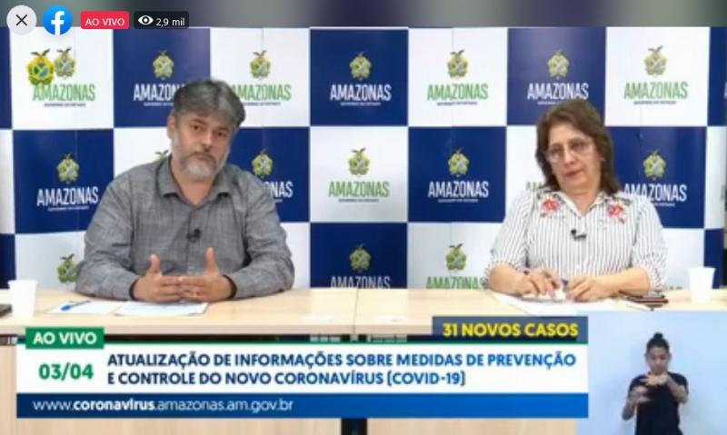 Governo do Amazonas reforça pedido para a necessidade do isolamento social para controle da Covid-19