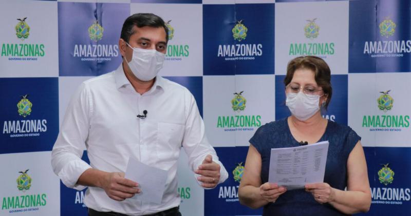 Wilson Lima amplia medidas restritivas no combate ao novo coronavírus