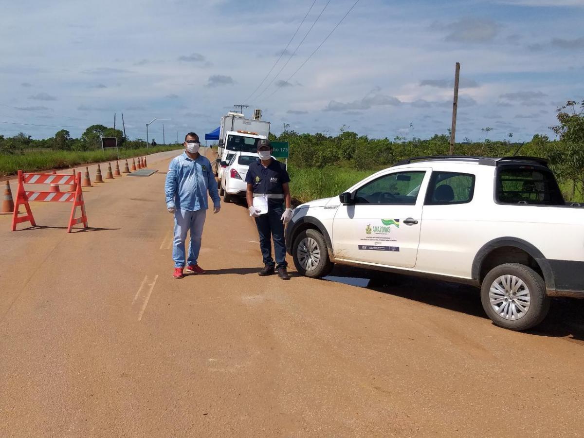 Adaf intensifica fiscalização do trânsito agropecuário em Humaitá