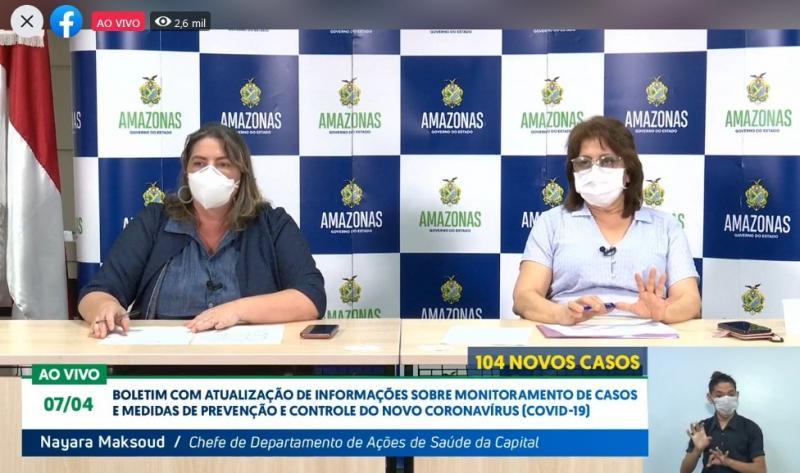 Amazonas registra 104 novos casos de coronavírus e totaliza 636; Manacapuru é a cidade do interior com 42 casos