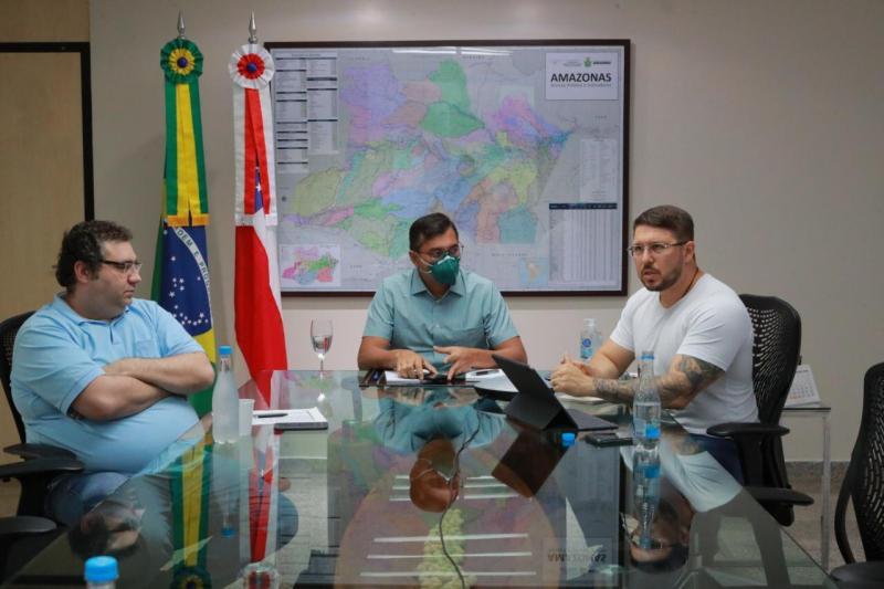 Wilson Lima determina redução de despesas no Estado e prioridade em investimentos na saúde
