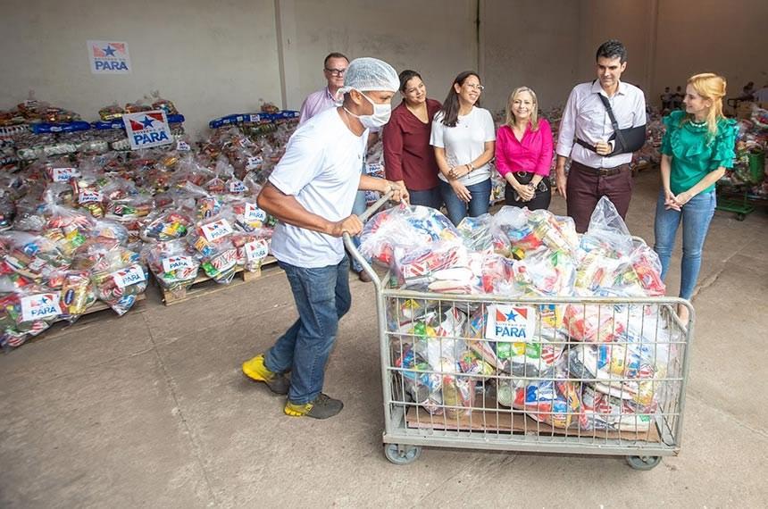 Nova lei garante alimentos da merenda escolar a alunos sem aula
