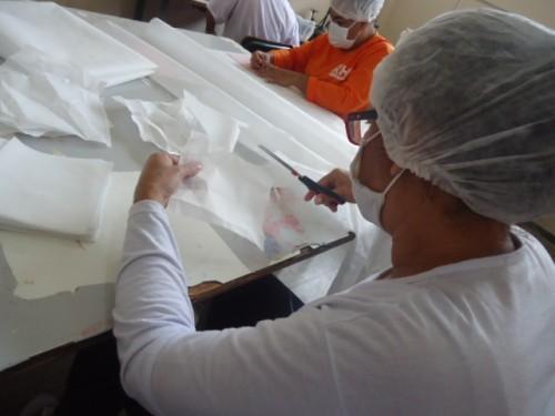 Detentas concluem curso 'Produção de Máscaras Triplas Descartáveis' para prevenção da Covid-19