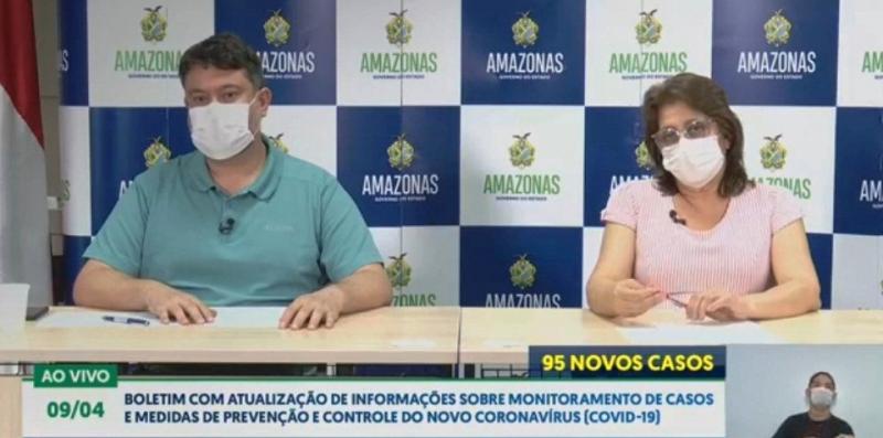 Boletim atualiza casos de Covid-19 no Amazonas