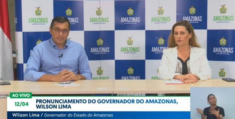Governador do Amazonas Wilson Lima anuncia novas medidas de enfrentamento ao coronavírus