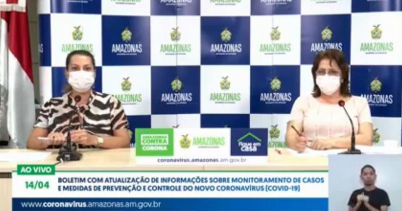 Amazonas registrou nas últimas 24h 209 novos casos de Covid-19