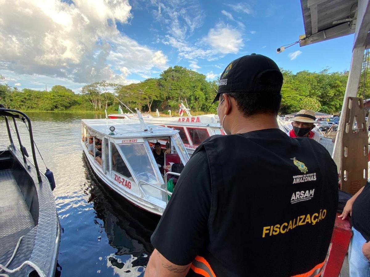 Operação Flutuante' flagra embarcações com excesso de passageiros