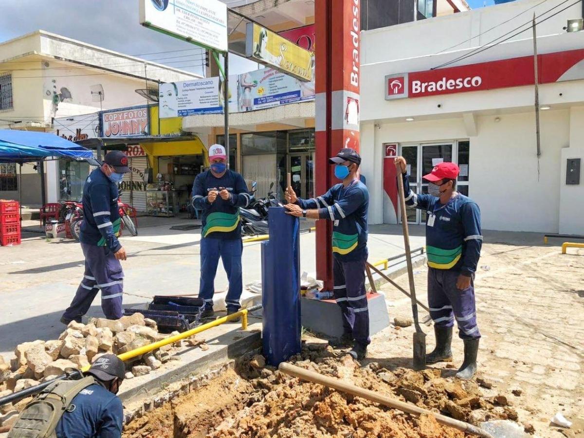 Cosama instala pias comunitárias no interior do estado