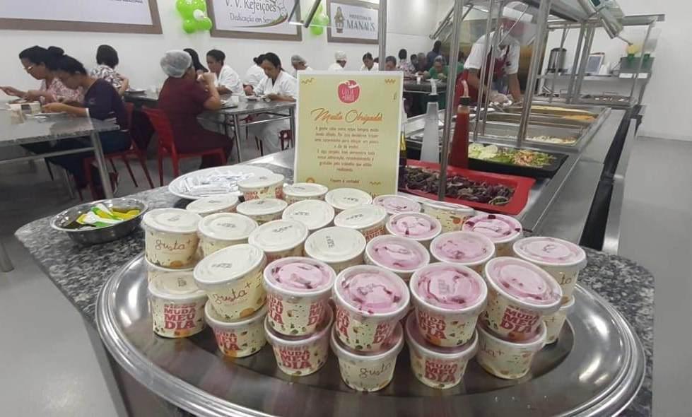 Três toneladas de sorvete são doadas a profissionais da saúde no AM