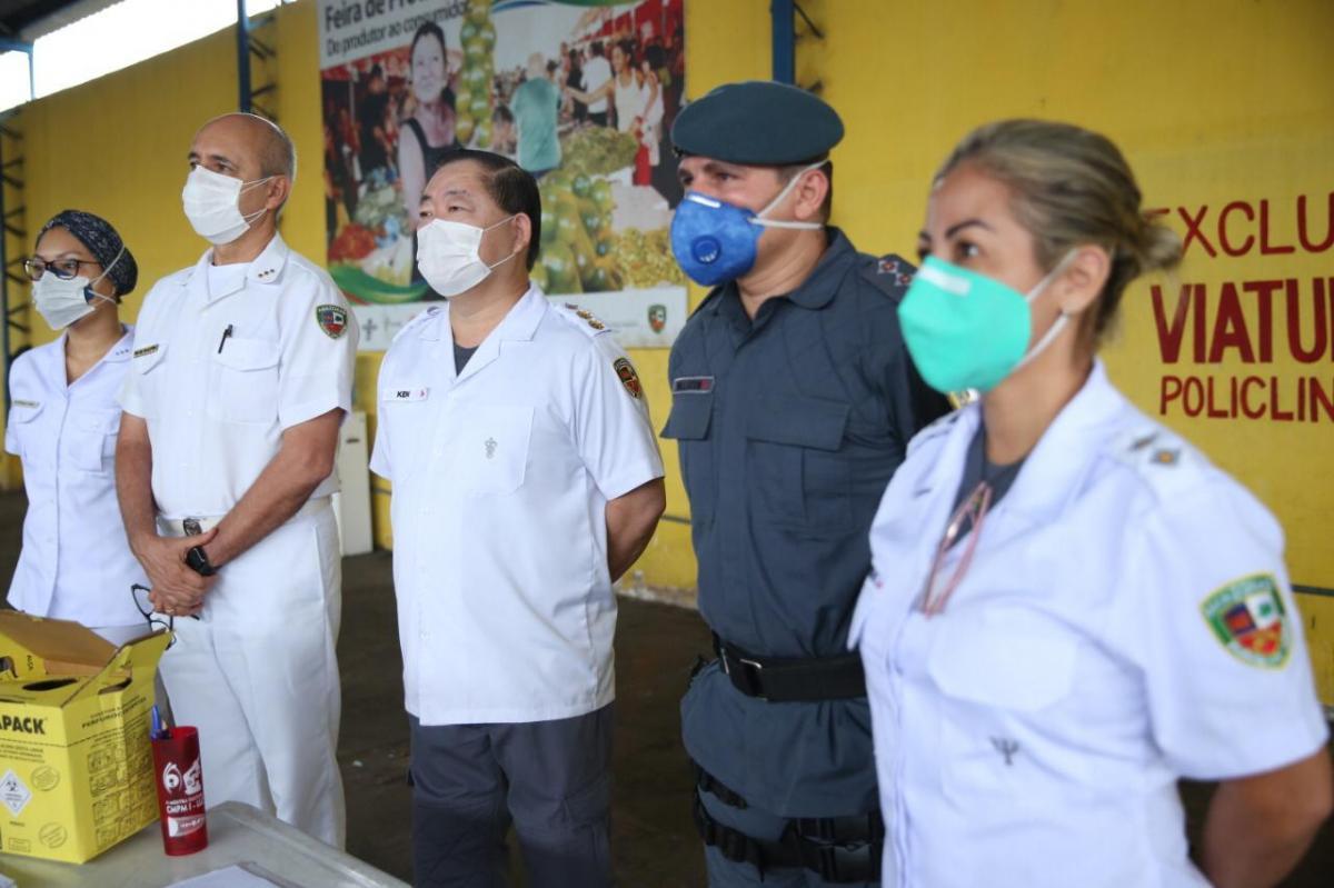 Polícia Militar do Amazonas registra 164 recuperados da Covid-19