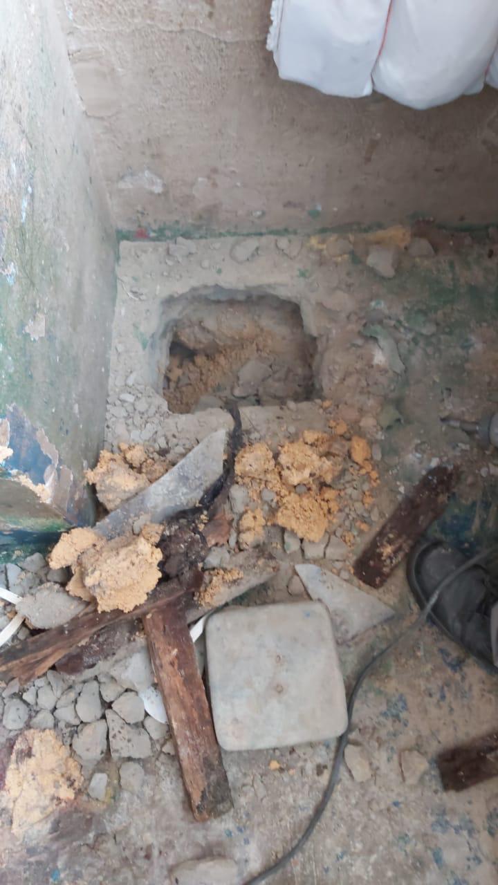 Seap descobre construção de túnel no Compaj durante revista