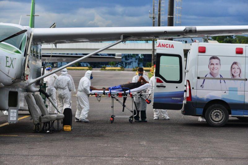 Governo do Amazonas amplia oferta de UTI aérea para remoção de pacientes do interior para a capital