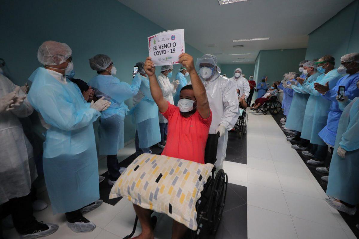 Amazonas tem 22.451 pacientes curados da Covid-19