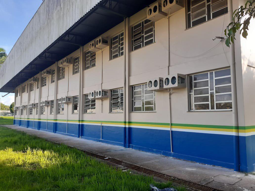 Governo do Amazonas revitaliza escola no município de Autazes