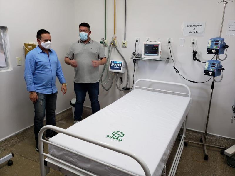 Com entrega de respiradores pelo Governo do Estado a Humaitá, municípios polos passam a contar com 44 UCIs