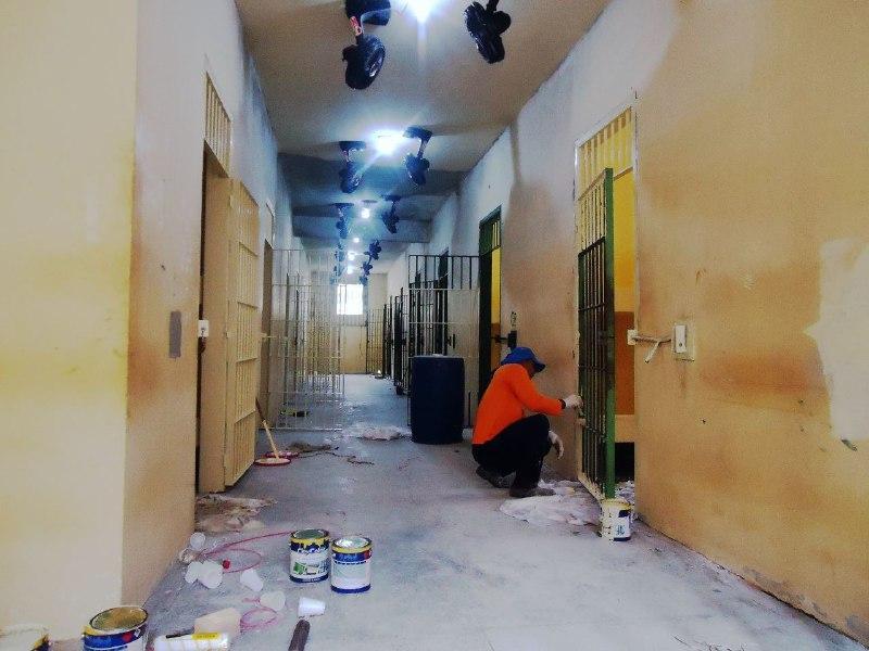 Seap realiza reforma no pavilhão anexo e na enfermaria do CDPM 1