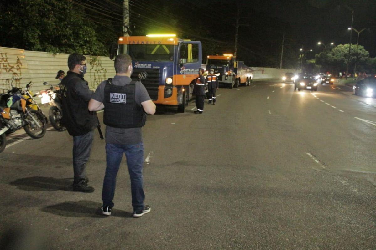 Operação do Detran-AM flagra 22 motoristas alcoolizados em Manaus