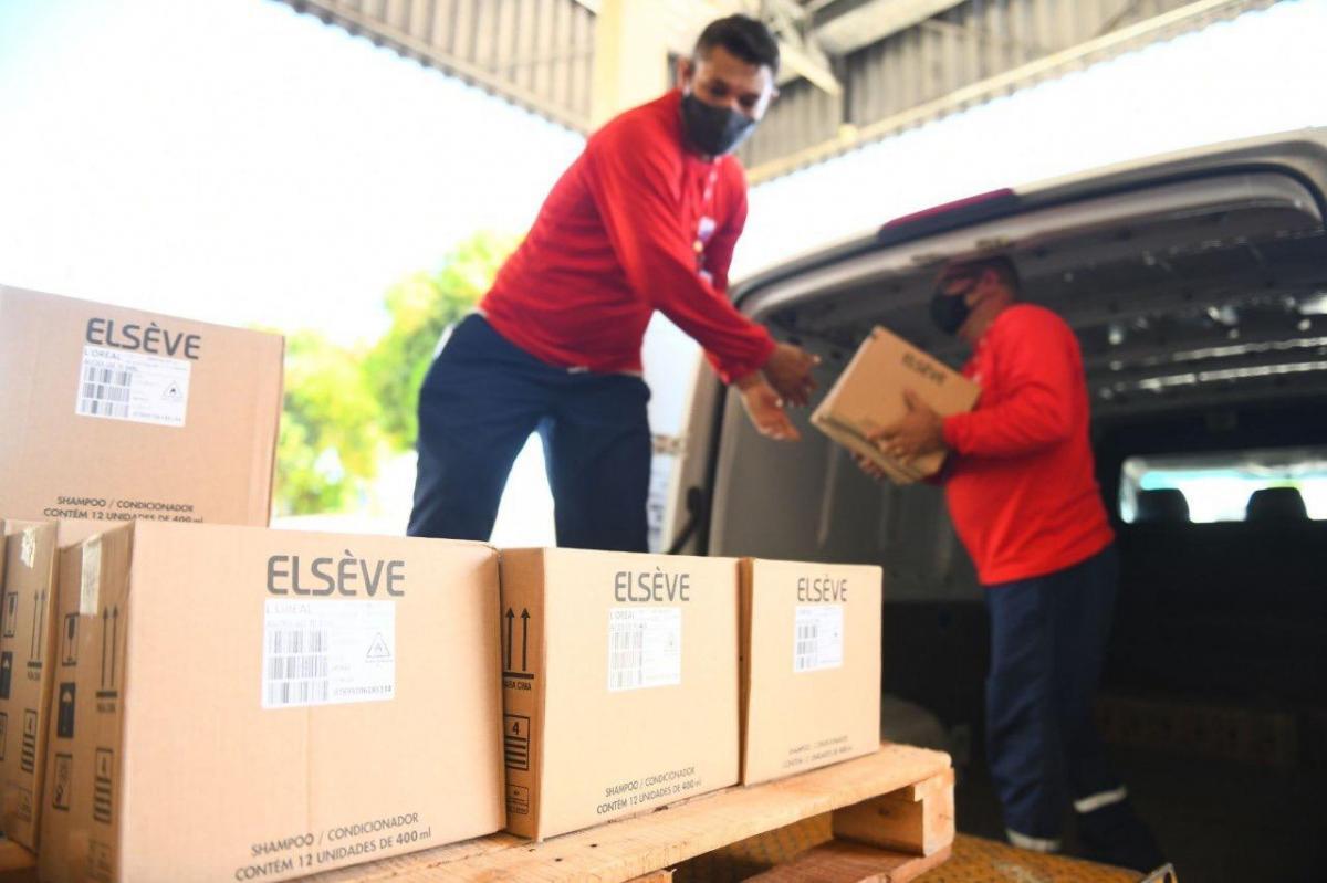 Susam recebe doação de 20 mil unidades de álcool gel da L'Oréal