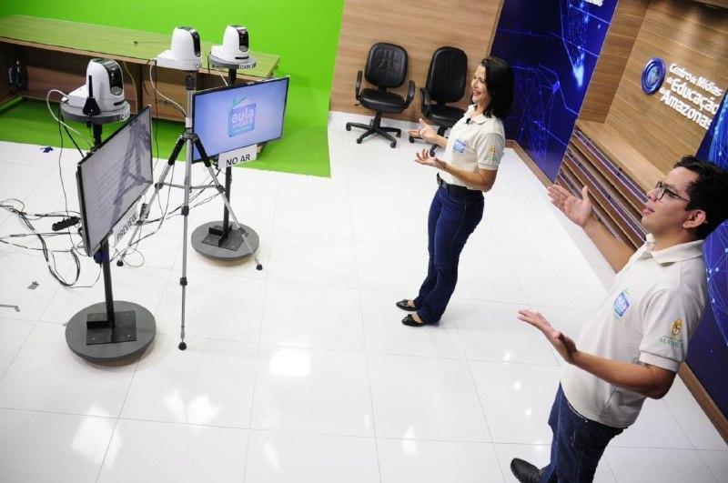 Projeto 'Aula em Casa' estreia programação especial de recesso escolar