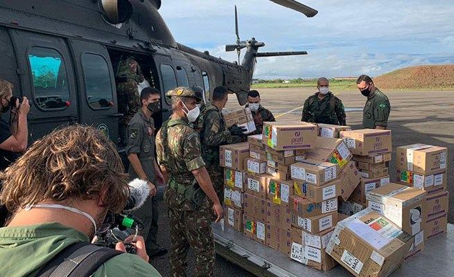 Aldeias Yanomami recebem reforço no combate à Covid-19