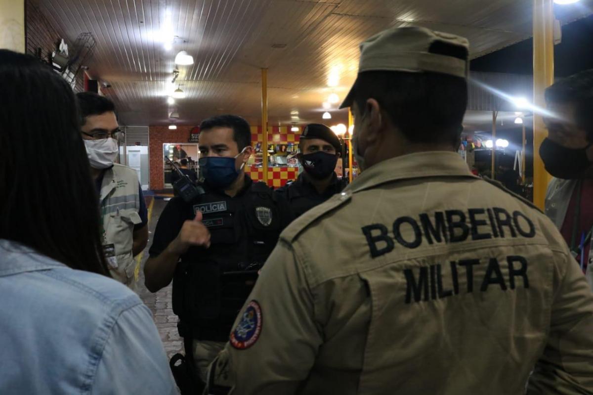 Central Integrada de Fiscalização fecha bares e casa de show em Manaus