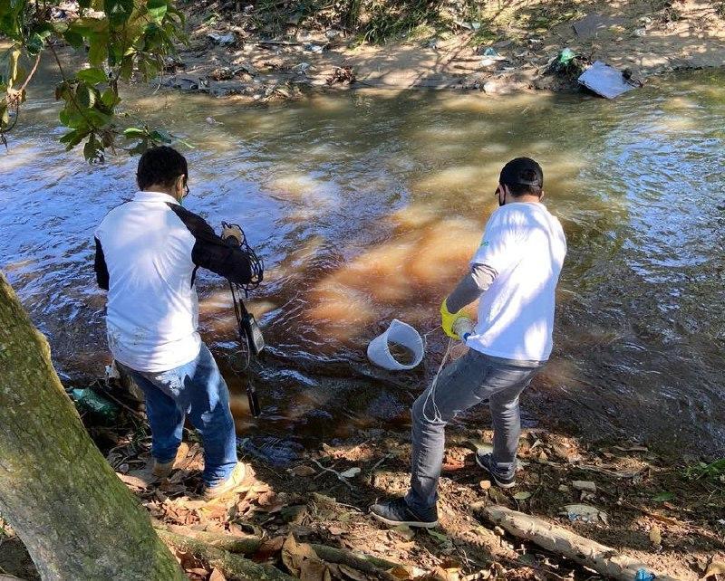 UEA retoma o monitoramento da qualidade da água nas microbacias de Manaus