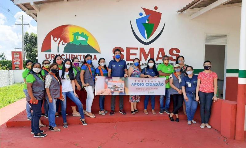 """Governo do Amazonas injetou em torno de R$ 200 mil em Urucurituba com o programa """"Apoio Cidadão"""""""