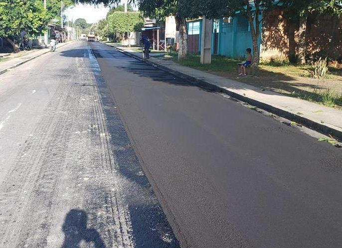 Governo do Estado entrega obras concluídas do sistema viário de Urucará