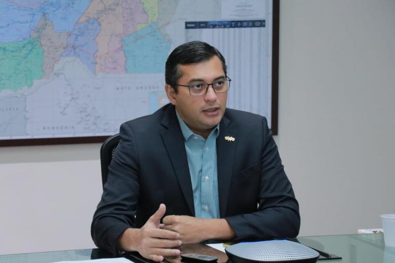 Wilson Lima afirma que pedido de impeachment pela Assembleia Legislativa está sob análise jurídica
