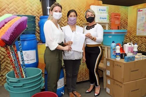 Seas recebe kits de higiene e limpeza do Unicef e Médicos sem Fronteiras