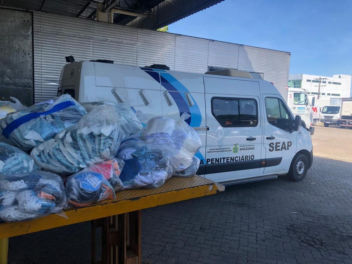 Seap entrega mais de 30 mil máscaras descartáveis à Susam