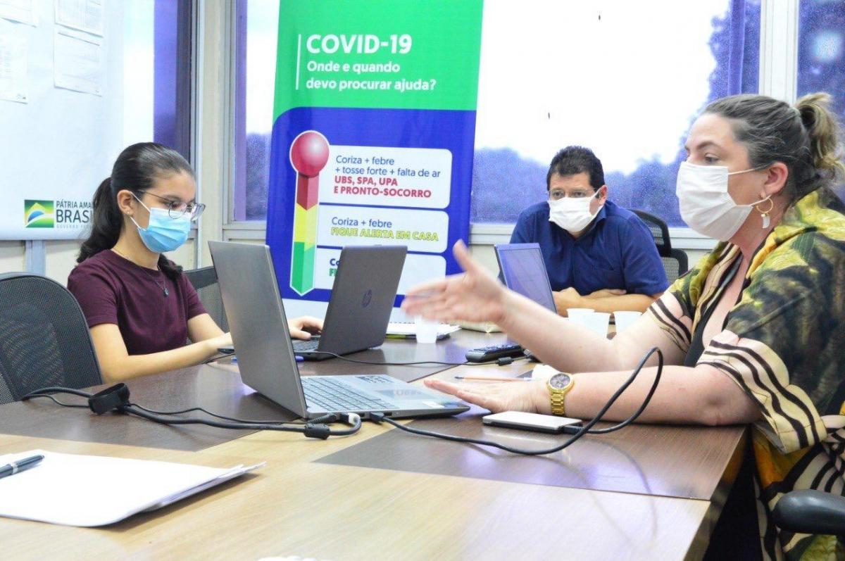 Susam participa de reunião com órgãos de controle