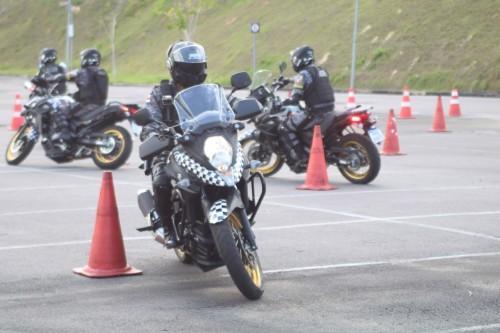SSP-AM realiza última fase do treinamento para lançar o 'Rocam Motos'