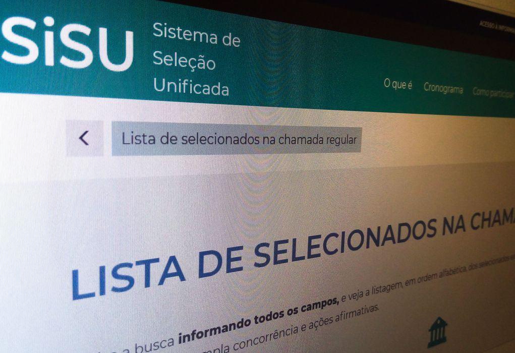 Matrícula dos aprovados na primeira chamada do Sisu começa hoje